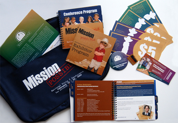 Mission possible conference giveaways
